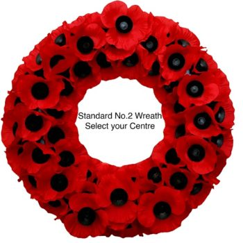 Standard No.2 Wreath- Select your own Centre