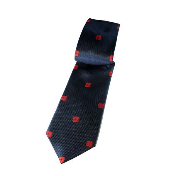 Lady Haig Poppy Factory Tie - Blue