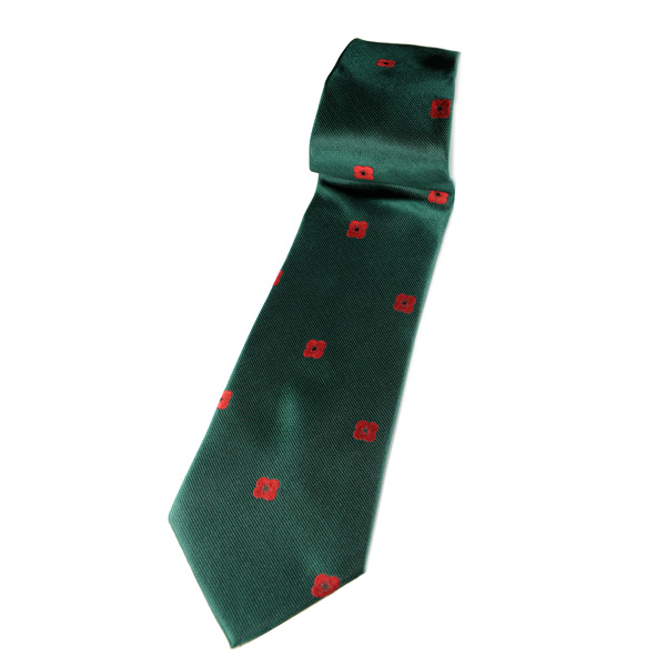 Lady Haig Poppy Factory Tie - Green