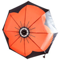 Lady Haig Ladies Automatic Poppy Umbrella