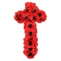 Poppy Wreath Cross WS4