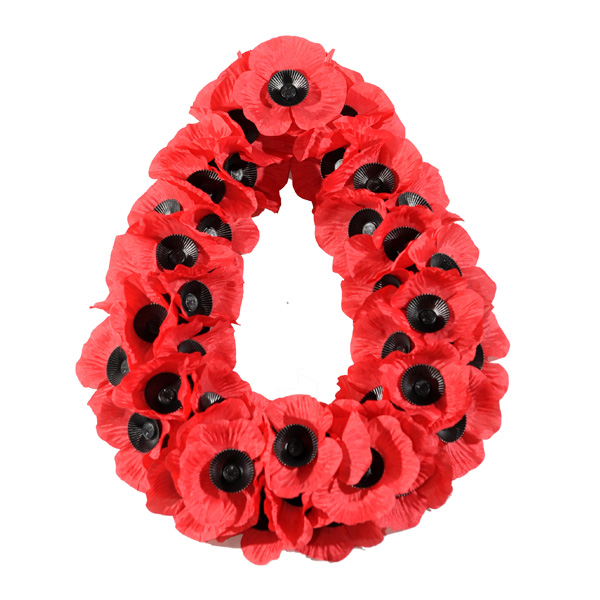Poppy Wreath W3