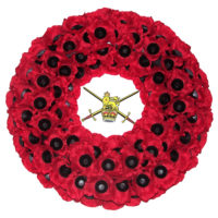 Poppy Wreath with Badge W7