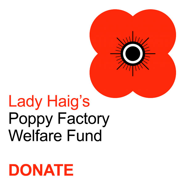 Donate to Lady Haig's Poppy Factory Welfare Fund