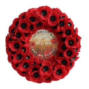 WW1 Cent Wreath