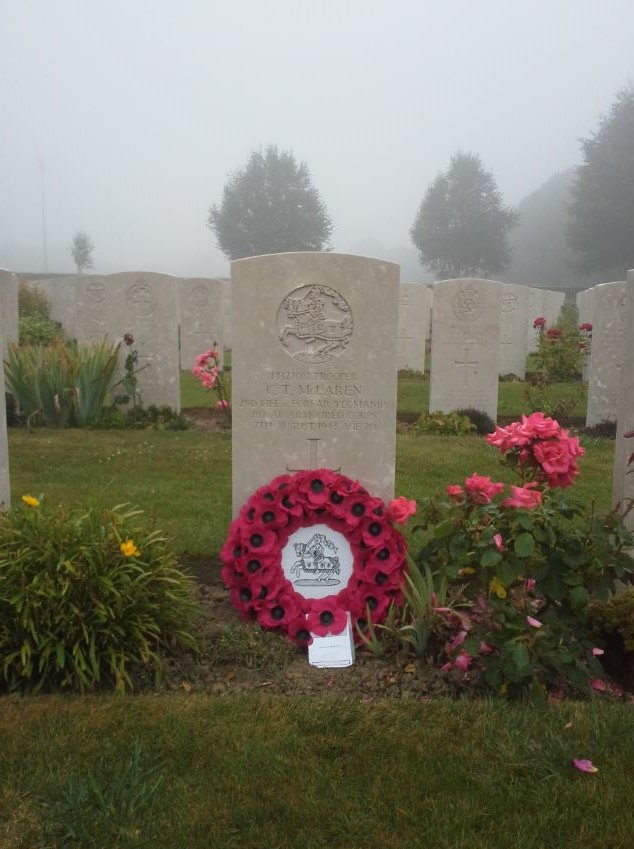 Wreath Laying on Commonwealth War Graves - Lady Haig Poppy ...