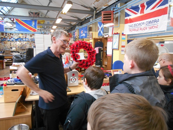 School Visit Programme at Edinburgh Lady Haig's Poppy Factory