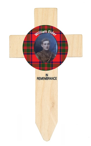 badged cross, tartan, poppies, scottish tartan, scottish memorial, remembrance, armistice, poppy appeal, lady haig's poppy factory, poppy factory, WW1, WW2