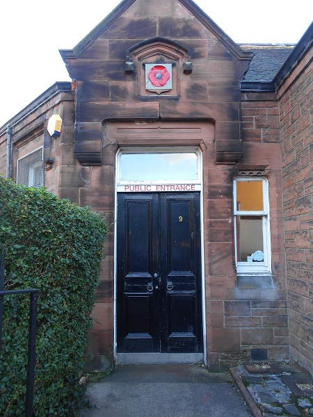 Front Door Entrance to Lady Haig's Poppy Factory