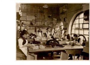 Poppy Wreath Makers At Work
