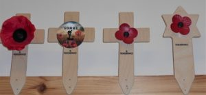 Remembrance Symbols Available from Lady Haig's Poppy Factory, Edinburgh, EH7 4HJ
