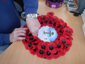 Armistice Commemorative Wreath available exclusively from Lady Haig's Poppy Factory