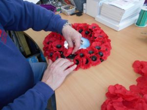 Armistice Commemorative Wreath available at Lady Haig's Poppy Factory
