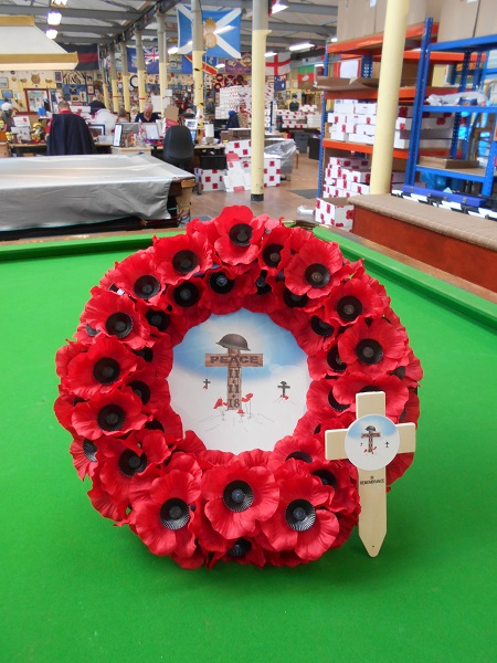 Armistice Commemorative Products exclusively available from Lady Haig's Poppy Factory