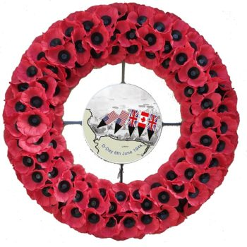 No. 8 D-Day Commemoration Wreath