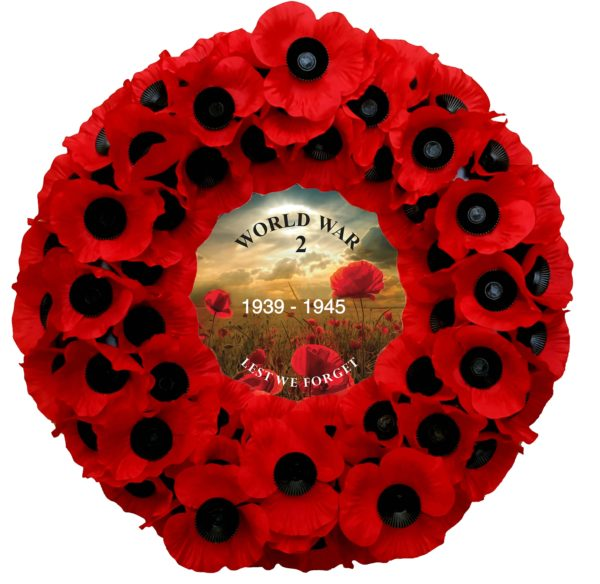 No. 2 WW2 Commemorative Wreath