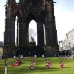 Wreaths laid at Edinburgh Garden of Remembrance
